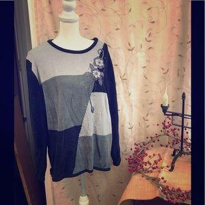 Women's Velour Sweater